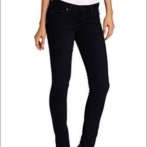 NWOT Paige Jeans Black Verdugo Skinny Monica 27